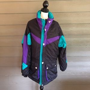 REI Elements Jacket Long Coat Rain Waterproof